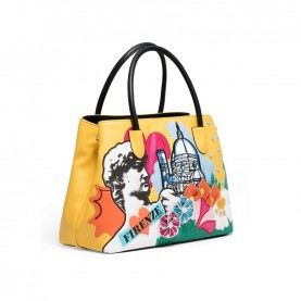 Braccialini B13974 Cartoline Firenze bag