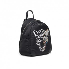 Braccialini B14021 black backpack Keira