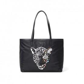 Braccialini B14022 black shopper tiger Keira