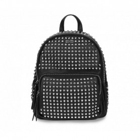 Cult 9854B black backpack with studs