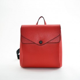 Gabs Carola M leather backpack ruga black red
