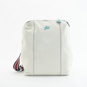 Gabs Dina M leather backpack ruga cream