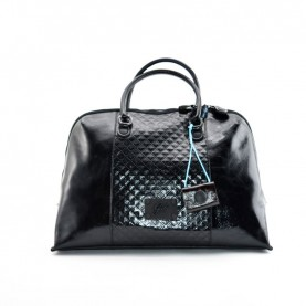 Gabs Esther L leather bag square black