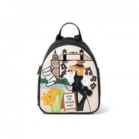Braccialini B14815 Cartoline backpack London