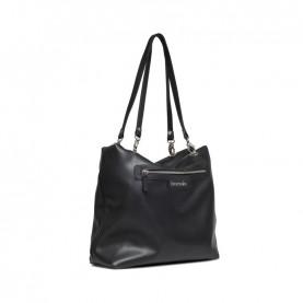 Braccialini B14852 Jennifer black reversible shopper bag