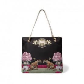 Braccialini B14852 Jennifer beige reversible shopper bag