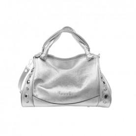 Braccialini B15000 Margot silver duffle bag