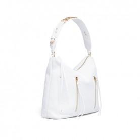 Braccialini B16053 white Ginger hobo bag