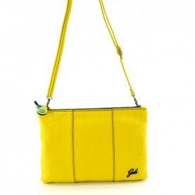 Gabs Beyoce M lemon ruga black leather bag