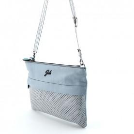 Gabs Beyoce M opal diamante + ruga black leather bag