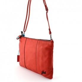 Gabs Beyoce M tulip soft black leather bag