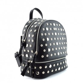 Cult 2582 black backpck with studs