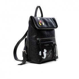 Desigual 21SAKP06 Mickey Mouse black backpack