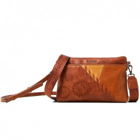 Desigual 21SAXP85 camel shoulder bag