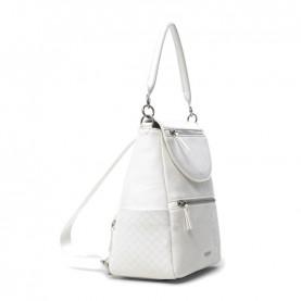 Desigual 21SAKP24 white backpack