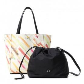 Desigual 21SAXP52 arty shopper bag