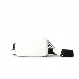 Desigual 21SAXP70 white logo crossbody bag
