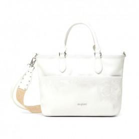 Desigual 21SAXP88 white handle bag