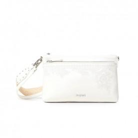 Desigual 21SAXP89 white shoulder bag