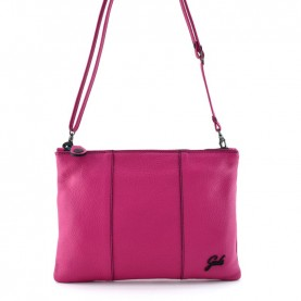 Gabs Beyoce M cyclamen ruga black leather bag