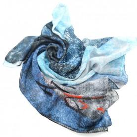 Desigual 19WAWA02 5006 printed foulard