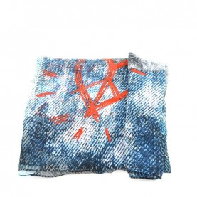 Desigual 19WAIAW01 5000 printed poncho