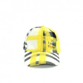 Desigual 19WAHA01 1001 yellow hat