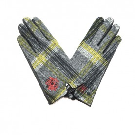 Desigual 19WAAW02 1001 yellow gloves