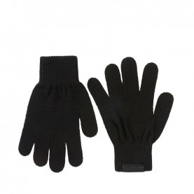 Trussardi Jeans 57Y00001 kit black scarf beanie and gloves