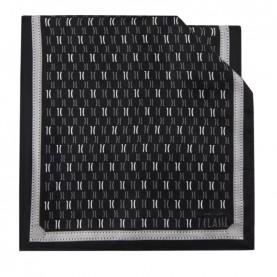 Alviero Martini 4048/TWIL silk scarf 45x180 logo black