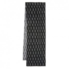 Alviero Martini S098/0003 black 1C logo scarf
