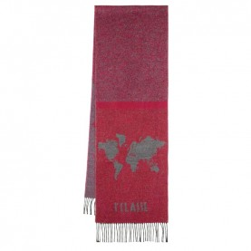 Alviero Martini S100/AM38 red bicolor scarf