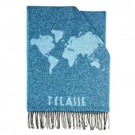 Alviero Martini S100/AM38 blue bicolor scarf