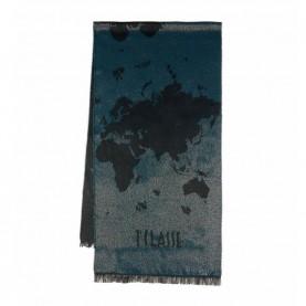 Alviero Martini S092/8476 petroleum geo lurex scarf