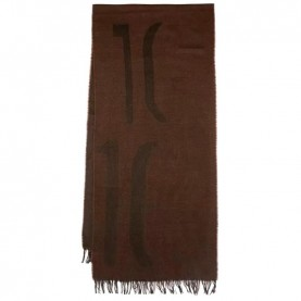 Alviero Martini S117/AM65 brown maxi logo scarf