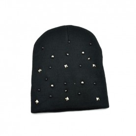 Cult 4652 black hat with studs