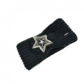 Cult 4650 black headband with star