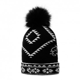 Desigual 20WAHK02 reversible hat with ponpon
