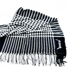 John Richmond 4958 black and white scarf
