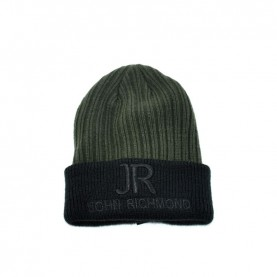 John Richmond 7914H military green beanie