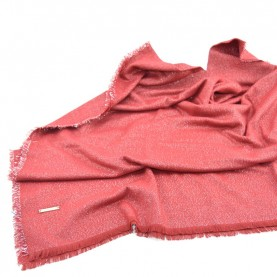 Trussardi Jeans 59Z00249 woman red and silver scarf