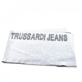 Trussardi Jeans 57Z00159 grey logo scarf