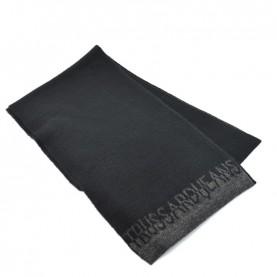Trussardi Jeans 59Z00160 woman black and grey glitter scarf