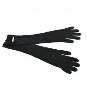 Trussardi Jeans 59Z00153 woman black gloves