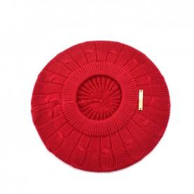 Trussardi Jeans 59Z00156 woman red woven beanie