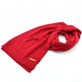 Trussardi Jeans 59Z00155 woman red woven scarf