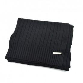 Trussardi Jeans 59Z00155 woman black woven scarf