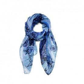 Desigual 19SAWF97 blue print foulard