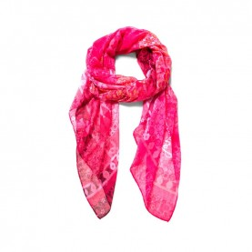 Desigual 19SAWF97 pink print foulard