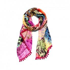 Desigual 19SAWF89 print foulard